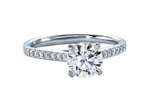 blue nile engagement rings cathedral pave onewed - Engagement Rings Blue Nile