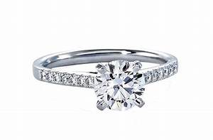 blue nile engagement rings petite cathedral pave onewedcom With blue nile wedding rings