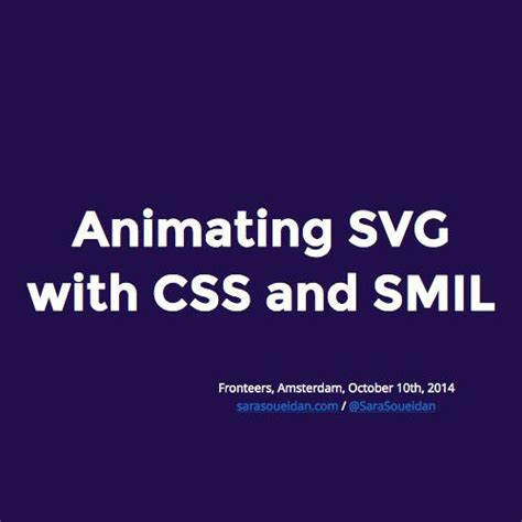 Svg (scalable vector graphics) also supports interactivity and animation, so you can animate and interact with svg like you're able to do with html. Animating SVG with CSS and SMIL (FULL VERSION)