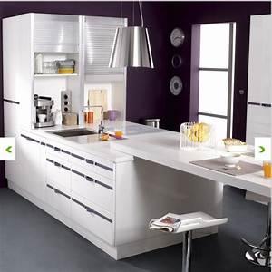 Leroy Merlin Peinture Blanche : meubles de cuisine blanche delinia leroy merlin ~ Dailycaller-alerts.com Idées de Décoration