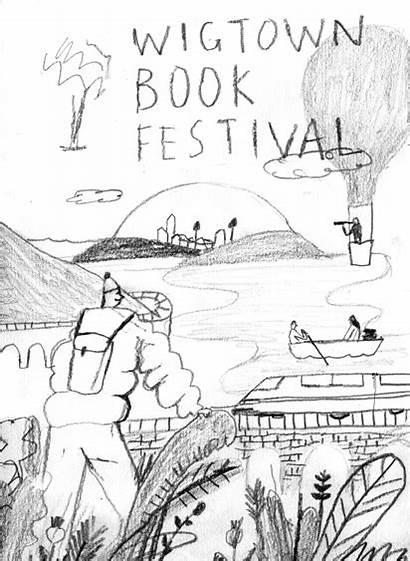 Wigtown Luke Festival Rough Animation