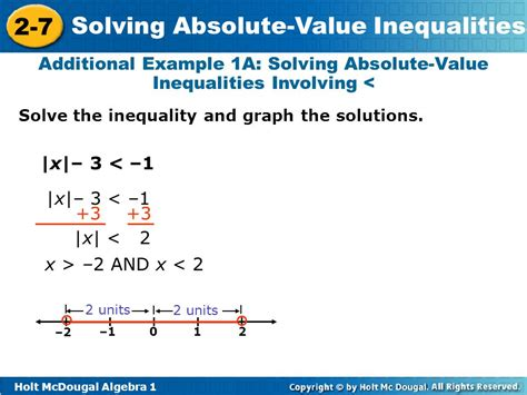 Objectives Solve Compound Inequalities In One Variable