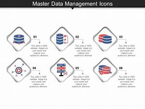 Master Data Management Icons