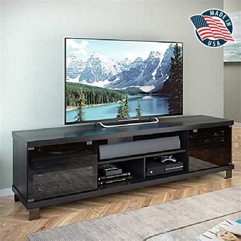 tv stand 80 inch tv stand for flat screens credenza entertainment center