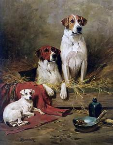 Victorian British Painting: Dog Paintings
