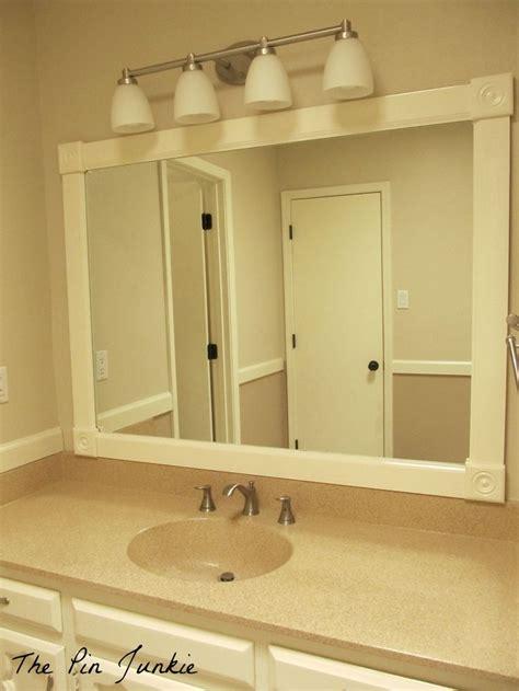 Bathroom Mirror Frames by 25 Best Large Bathroom Mirrors Ideas On