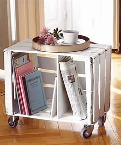 Recyclage Petite Cagette : 35 id es de recyclage des cageots en bois ils trouveront une place dans votre int rieur ~ Nature-et-papiers.com Idées de Décoration
