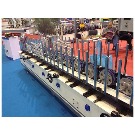 profile wrapping machine  pvc anf veneer hzh woodworking machinery