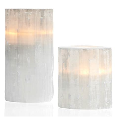selenite votive   gifts collections