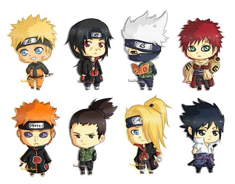 +fan Art+ Mini Chibi Naruto By Yukino-yume On Deviantart