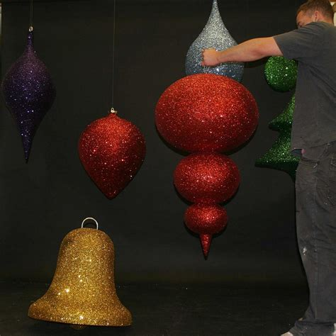 3d hanging commercial christmas decorations for instore