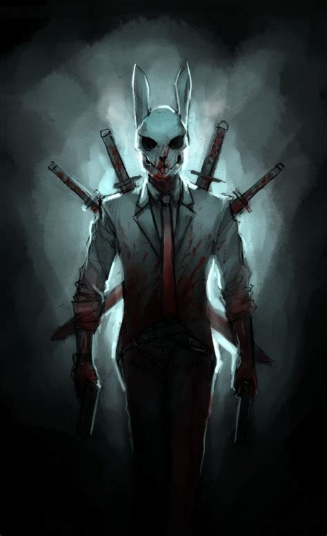 bunny man awesome happy