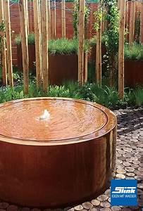 Gartenbrunnen Aus Cortenstahl : ideen mit wasser gartenbrunnen wasserbecken ~ Sanjose-hotels-ca.com Haus und Dekorationen