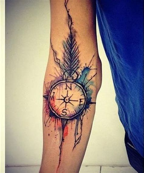 cute watercolor sleeve tattoo ideas  girls