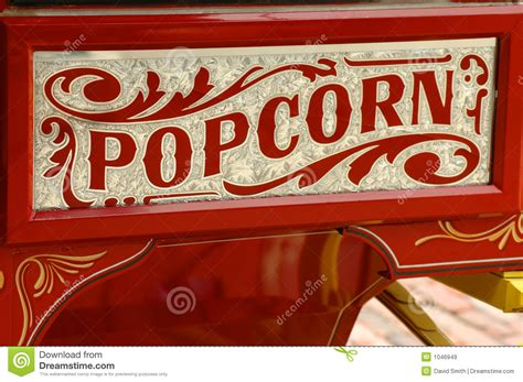 popcorn vendors cart royalty  stock images image