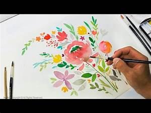 DIY Greeting Card Watercolor Painting Level 3