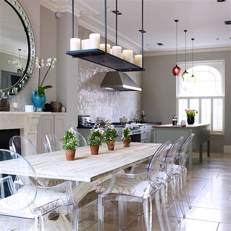 Decorating Ideas Kitchen Diner by Classic And Grand Kitchen Diner Open Plan Kitchen Design