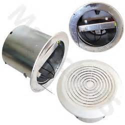 ventline bathroom exhaust fan vent 7 quot round