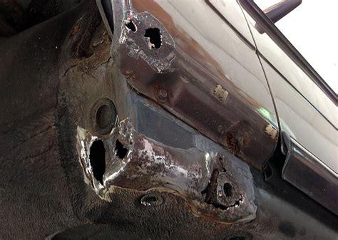mercedes rust w123 repair benz diesel 1986 300d desultory automotive categories
