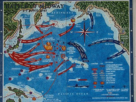 the state of siege map of the battle of midway dan goens