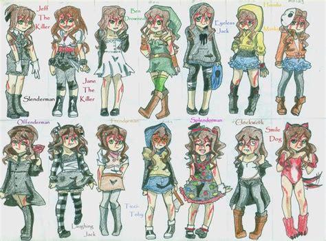 Best 25+ Creepypasta Characters Ideas On Pinterest