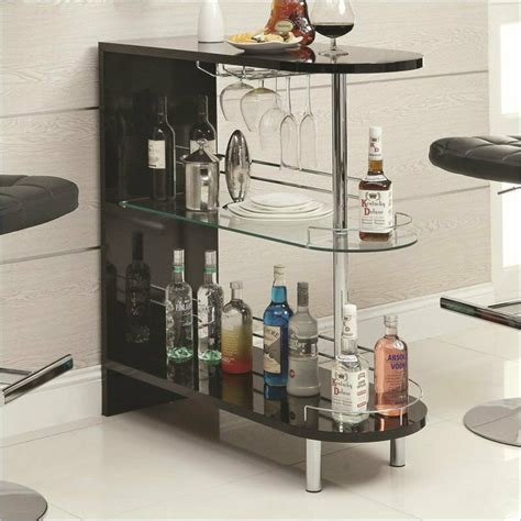 Home Bar Table by Contemporary Bar Table Black Home Pub Glass Storage