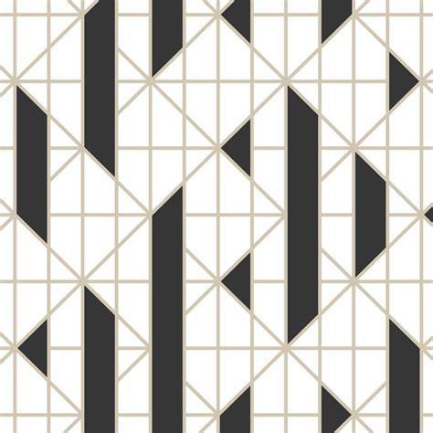 graham brown black  white monochrome stripe removable