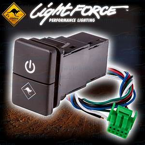 New Lightforce Dual On    Off Switch Suit Toyota Prado 150