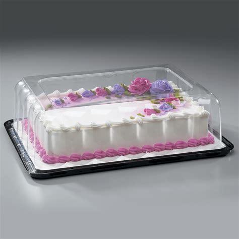 high quarter sheet cake dome  base decopac