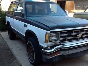 Sell Used 1987 Chevy S10 Blazer 4x4 Mechanics Special In