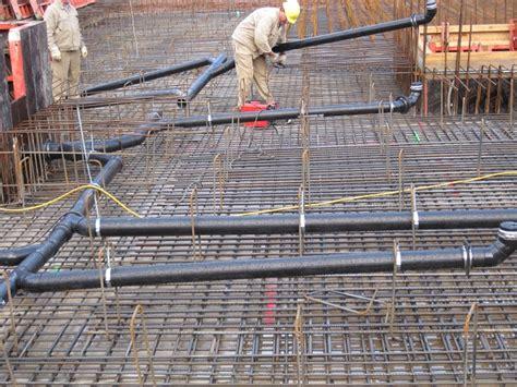 grundleitung unter bodenplatte rohrleitungsbau entw 228 sserungsleitungen rohrbau iks kunststoffbau