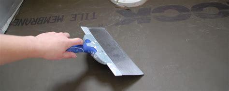Durock Tile Membrane Canada by Tile 101 Installing Durock Tile Membrane Diydiva