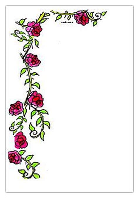 briefpapier rosenranke kreativzauber