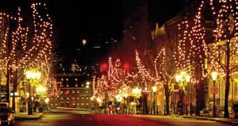 main street bethlehem pa aka christmas city where i live holidays pinterest