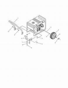 Craftsman Model 580327182 Generator Genuine Parts