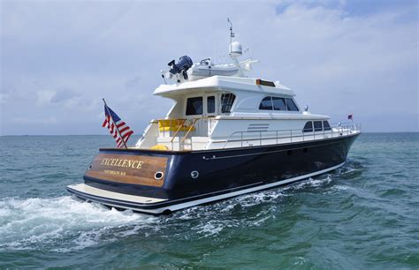 Yacht Excellence lyman morse yacht excellence aft view luxury yacht