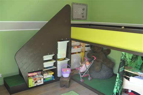 chambre commerce de lit enfant ikea kura customisé