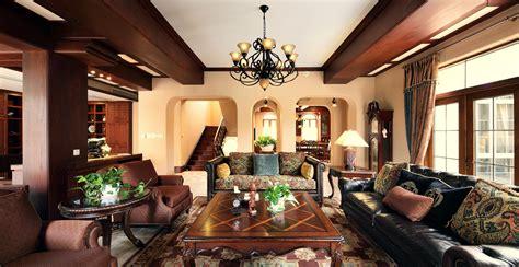 country style living room ls 美式乡村风格别墅客厅装修图片大全2014图片 土巴兔装修效果图