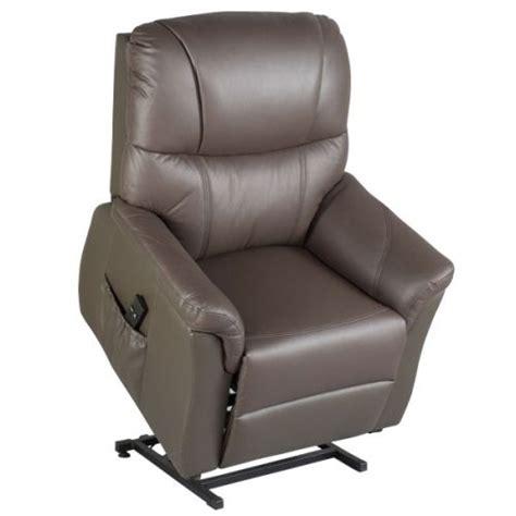 fauteuil releveur relax rosario cuir 2 moteurs