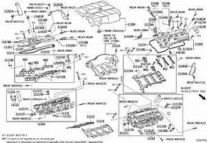 Lexus Rx 350 Engine Oil Filler Cap - 121800p021