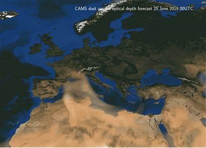 Heatwave Sahara Extreme Cams European June Europe