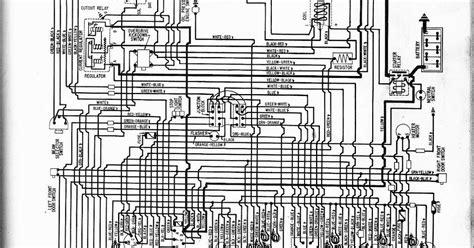 auto wiring diagram  ford  fairlane custom