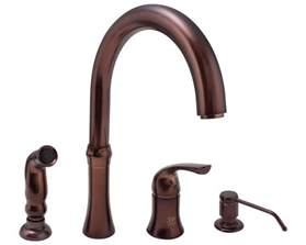rubbed bronze kitchen faucet rubbed bronze kitchen faucet home design