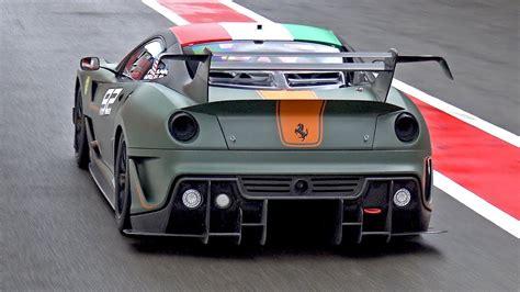 matte green hp ferrari xx evoluzione brutal sounds