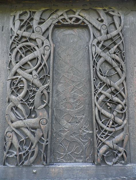 urnes stave church  originally   norse heathen hof