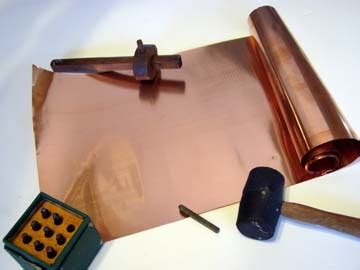 copper embossing foil for sting tooling fast shipping