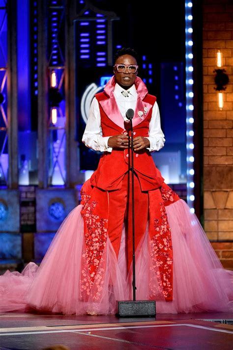Billy Porter Wears Kinky Boots Curtain Tony Awards