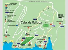 Calas de Mallorca Street Map and Travel Guide