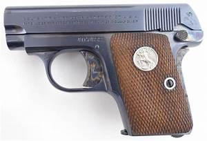 Colt 1908 Vest Pocket  25 Acp Pistol  1938 Mfg Date  Like