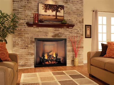 Stone Fireplace Decorating Ideas Interior Design Natural